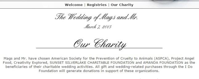 Donation registry