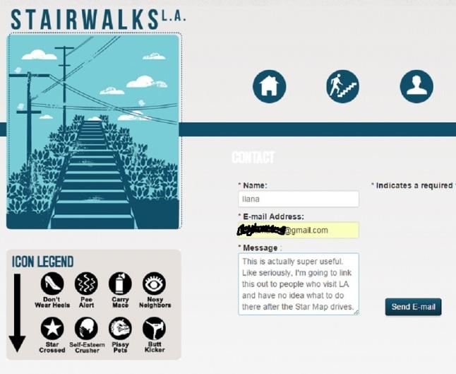 Stairwalks contact